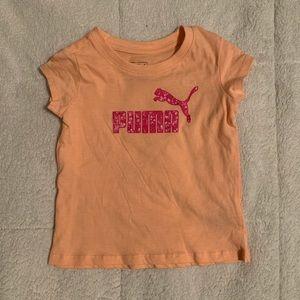 Girls Puma Tee